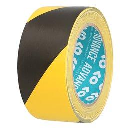 Adhésif Sécurité noir/jaune 50mm x 33m