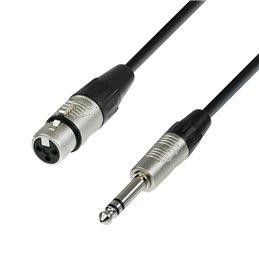 Câble Micro REAN XLR femelle vers Jack 6,35 mm TRS stéréo 5 m