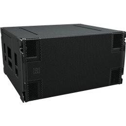 Sub 2 x 18 pouces noir - Hybride pavillon/reflex