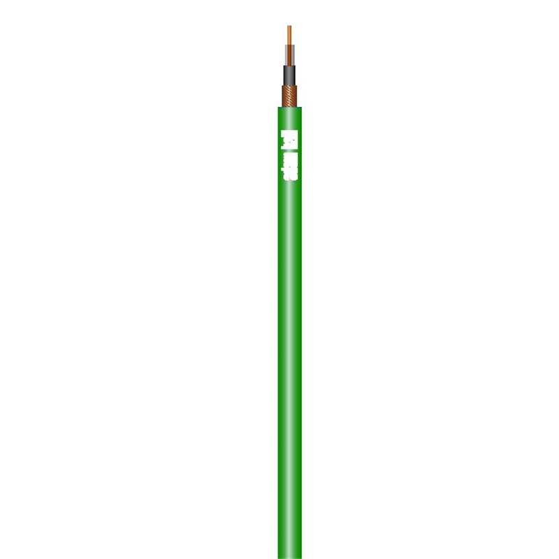 Câble Instrument 1 x 0,22 mm² vert