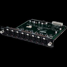 Carte 8 entrées mic/line XLR pour DX32