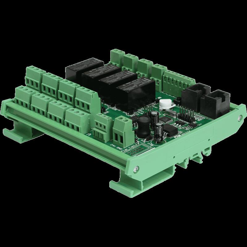 Unité 4 relais num. M2/R2/MTX