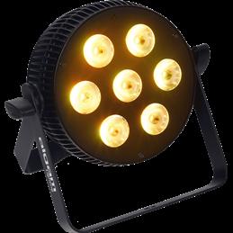 Projecteur à LED 7x10W 4-en-1 RGBW slim