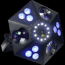 Multi-effet 4 en 1 avec laser