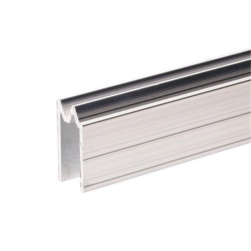 Profilé Hybride d'Emboîtement aluminium pour matériau 9,5 mm