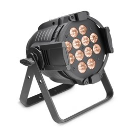 12 x 10 W Tri-LED STUDIO PAR with variable White Light and Dim-to-Warm Control