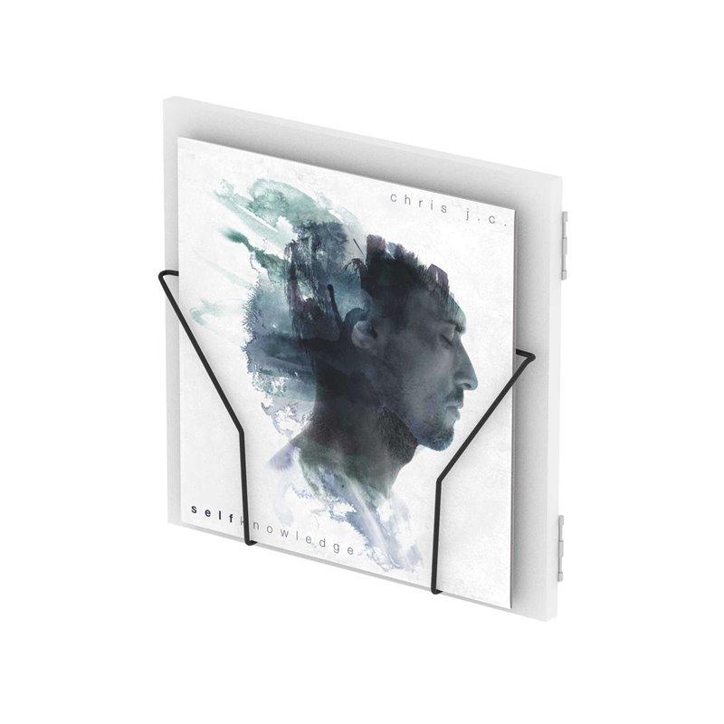 RECORD BOX DISPLAY DOOR WHITE