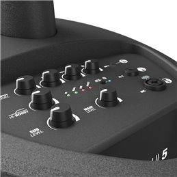 Système sono colonne ultra-portable avec mixeur intégré et Bluetooth