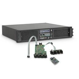 Amplificateur Sono 4 x 3025 W 2 Ohms avec Module DSP avec AES/EBU