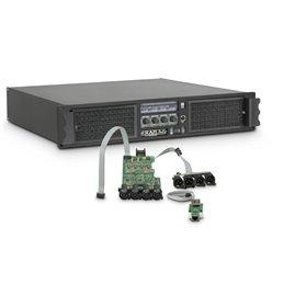 Amplificateur Sono 4 x 3025 W 2 Ohms avec Module DSP + Ethernet