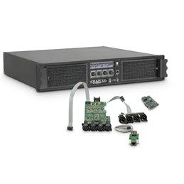 Amplificateur Sono 4 x 3025 W 2 Ohms avec Module DSP avec AES/EBU + Ethernet