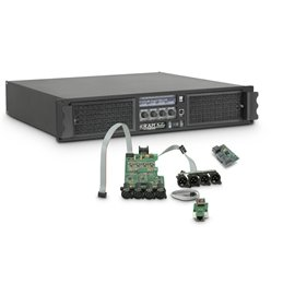 Amplificateur Sono 4 x 2950 W 4 Ohms avec Module DSP avec AES/EBU + Ethernet