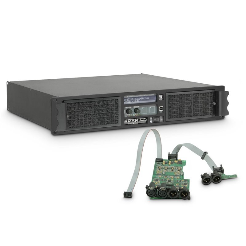 Amplificateur Sono 2 x 4400 W 2 Ohms avec Module DSP