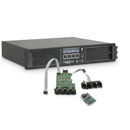 Amplificateur Sono 4 x 2260 W 2 Ohms avec Module DSP avec AES/EBU