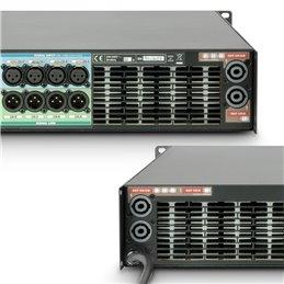 Amplificateur Sono 4 x 2260 W 2 Ohms avec Module DSP + Ethernet