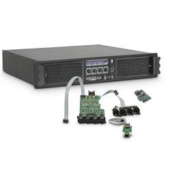 Amplificateur Sono 4 x 2260 W 2 Ohms avec Module DSP avec AES/EBU + Ethernet