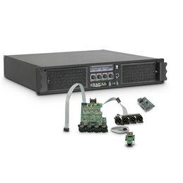 Amplificateur Sono 4 x 2200 W 4 Ohms avec Module DSP avec AES/EBU + Ethernet