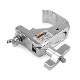Pince Smart Hook Slim Clamp Mini finition argent jusqu'à 200kg (48- 51mm)