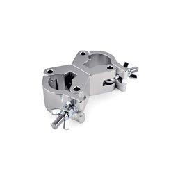 Coupleur Pivotant Argent Large à 750 kg MKII (48-51 mm)