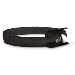 """Black round sling,"""" Steelflex"""", circumference 1 m load capacity of 2 t"""