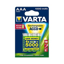 Rechargeable Battery - AAA Micro - 1000 mAh