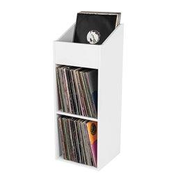 RECORD BOX 330 WHITE
