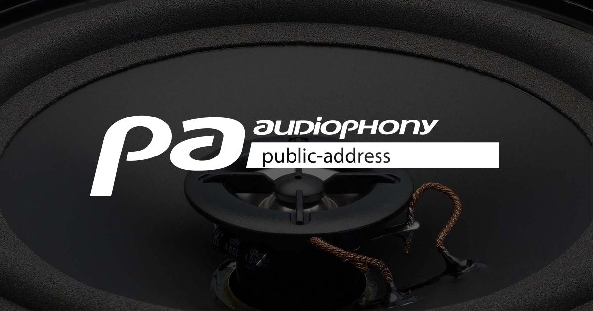 AUDIOPHONY PA